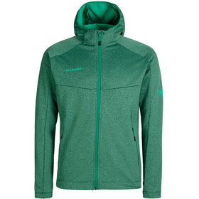 Mammut Nair ML Hooded Jacket Men, deep emerald melange